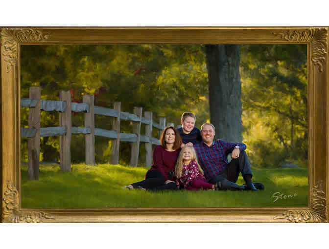 Portraits Created at Your Home or Location