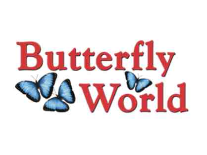 2 Passes to Butterfly World in Orlando, Florida
