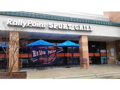 $100 to Rally Point Sports Grill in Cary, NC  4.2 star RATED