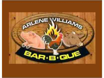 $100 to Arlene Williams BBQ in Pensecola, FL  4.2 star rated