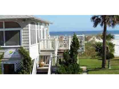 2 nights oceanfront @ 5 star B&B St Augustine,Florida House of the Sun + $100 FOOD