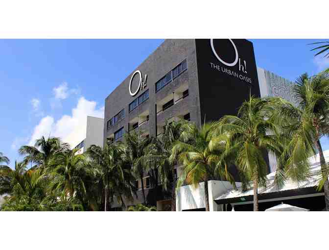 Enjoy 4 nights @ famous Oh Urban Oasis Cancun Resort 4.5 star RATED