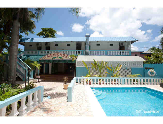 Enjoy 6 nights @ Legends Beach Hotel Negril, Jamaica 4 star rated