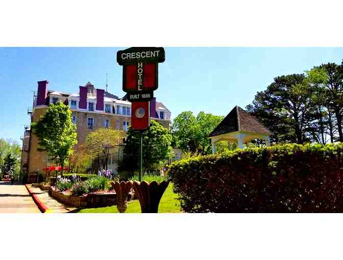Enjoy 1 night @ 4.5 star Crescent Hotel in Eureka Springs, AR + $100 FOOD CREDIT