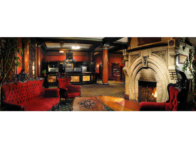 Enjoy 2 nights @ 4.5 star Crescent Hotel in Eureka Springs, AR + $100 FOOD CREDIT