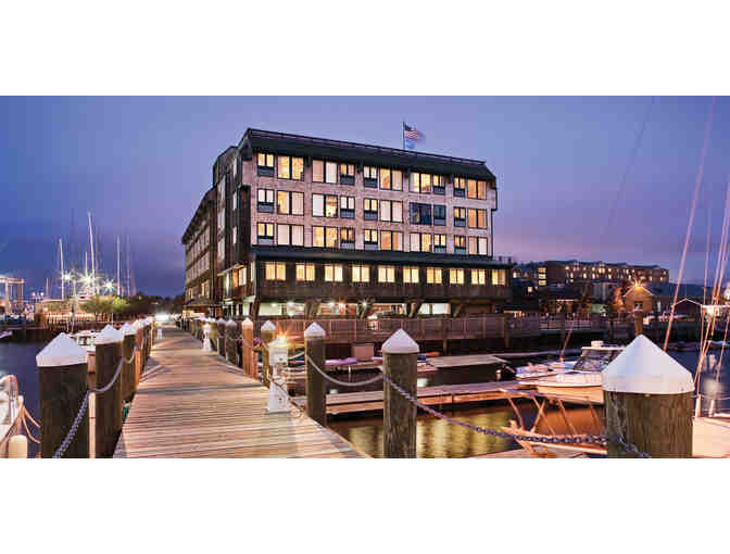 Enjoy 3 nights 4 STAR @ Wyndham Inn on Long Wharf, Newport, RI + $300 Food & Play Credit