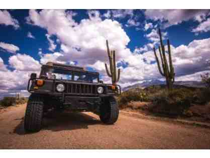 Stellar Adventures-H1 Hummer adventure for 2 Phoenix, AZ + $200 Food Credit