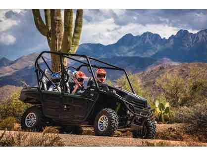 Stellar Adventures-Sonoran Desert: Guided 4-Seat UTV Adventure Phoenix + $200 FOOD Credit