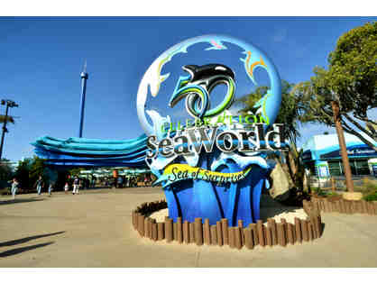 Enjoy 4 Seaworld San Diego Passes + $100 FOOD CREDIT!