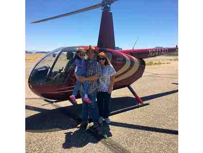 Enjoy Helicopter Ride for 2 with Volare near Tuscon, AZ. 5 star reviews + MORE