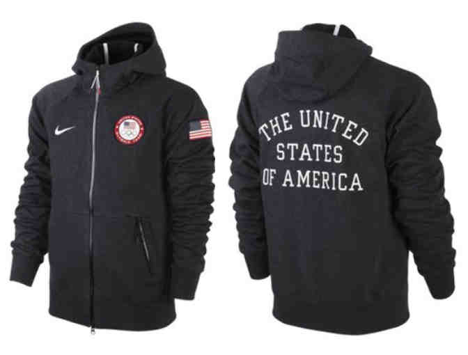 2012 Olympic Games Team USA Jacket - Men's XXL AW77 Tech Hoodie