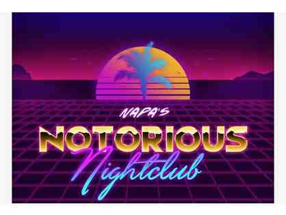 Dance Like No One is Watching!    VIP TICKETS to Notorious