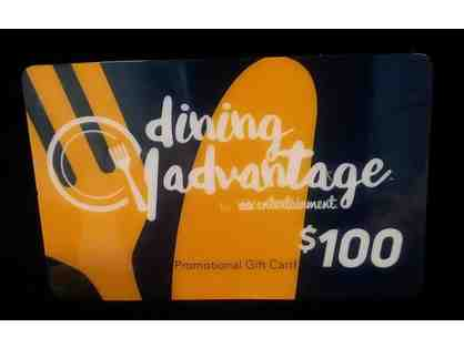 $100 Dining Advantage Gift Card