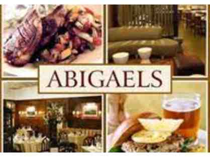 $50 Abigael's on Broadway Gift Certificate