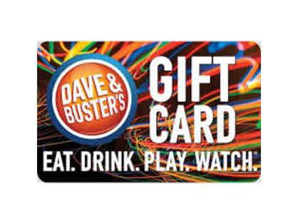 $50 Dave & Buster's Gift Card