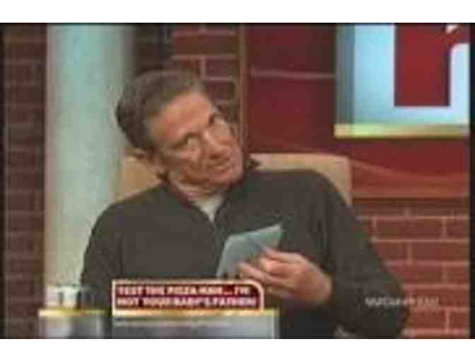 5 VIP Tickets to The Maury Show plus goodies and photo with Maury!