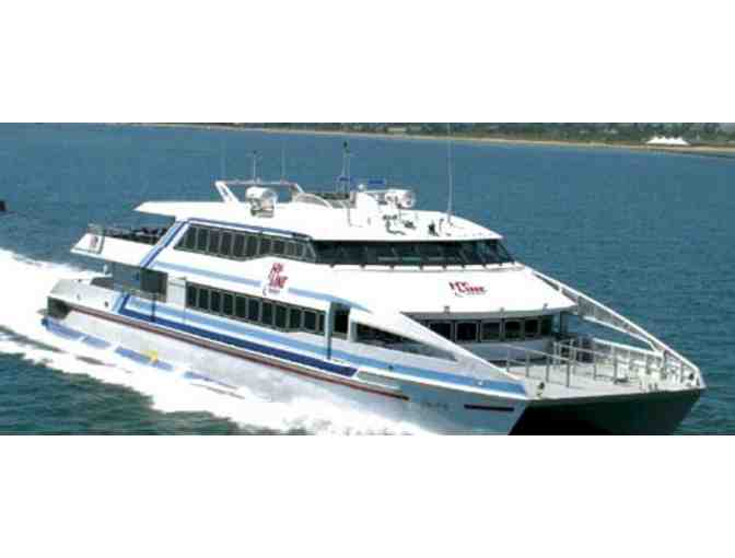High-Speed Round-Trip Ferry Ride to Martha's Vineyard for Two
