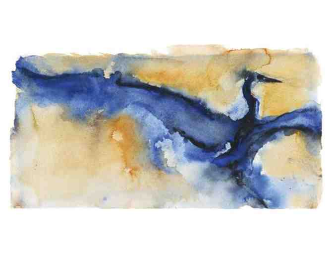 Heron Dance Impression I -- Limited Edition Print