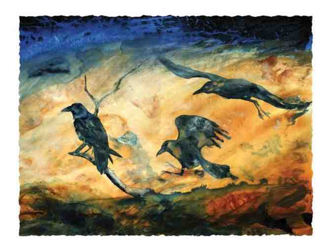 Three Ravens -- Limited Edition Print