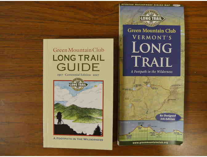 Long Trail Map and Guide Book