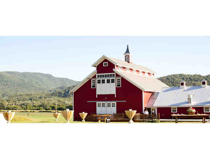 Wedding or event space rental at the West Monitor Barn, Richmond VT