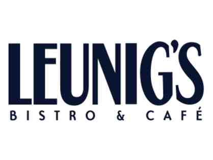 Voucher for Dinner for two at Leunig's Bistro & Cafe