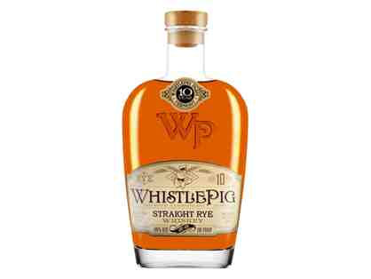 A 750mL Bottle of Whistlepig 10 Year Rye