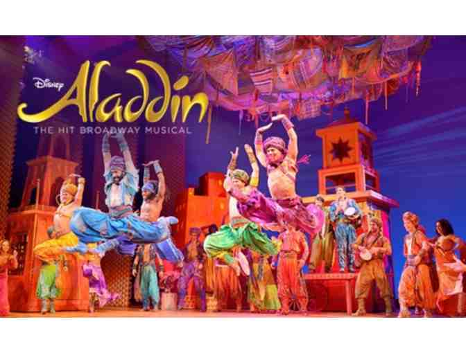 Two tickets to see ALADDIN on Broadway plus Costume Shop Tour!