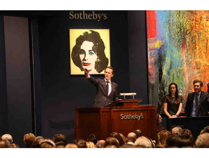 Sotheby's Auction House: A Rare Look Inside