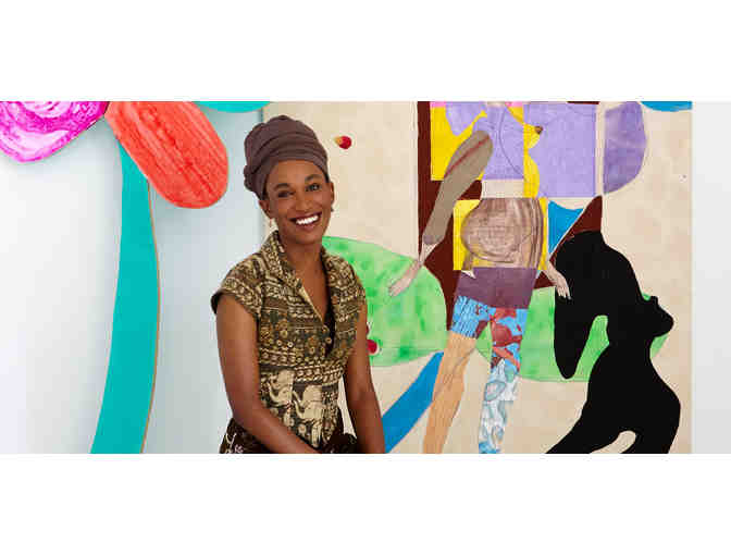 Private Tour of Artist Tschabalala Self's Studio and a Champagne Toast