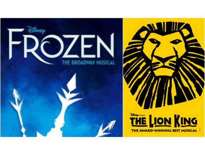 Disney on Broadway | THE LION KING & FROZEN: Tickets + Meet-and-Greet with Ryann Redmond - Photo 1