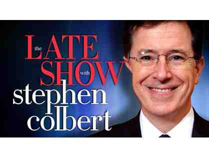 (2) Tickets to the LATE SHOW With STEPHEN COLBERT