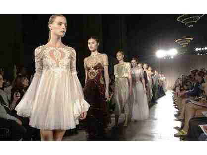 (2) Tickets to MARCHESA Runway Show during NY Fashion Week