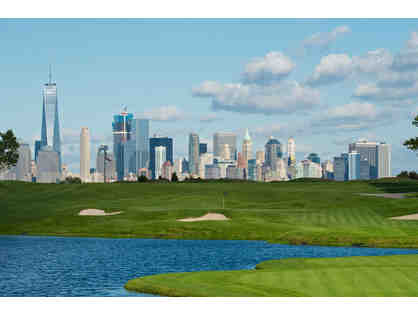 A Round of Golf for up to (3) Guests at LIBERTY NATIONAL GOLF CLUB