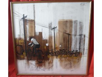 McCaine Bicycle Painting: