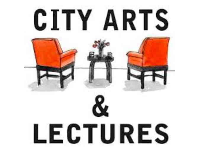 City Arts & Lectures - Two (2) Tickets to any Winter/Spring 2019 Program - Photo 1
