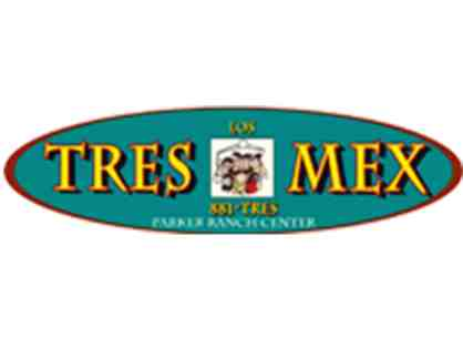 $25 Gift Card to Los Tres Mex in the Foodcourt at Parker Ranch Center