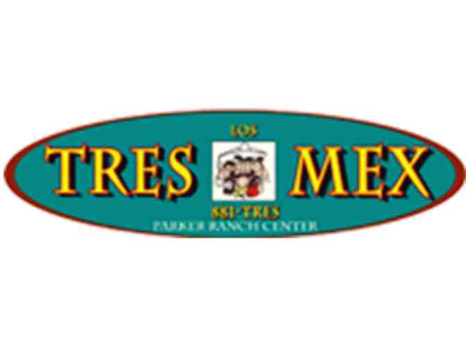 $25 Gift Card to Los Tres Mex in the Foodcourt at Parker Ranch Center - Photo 1