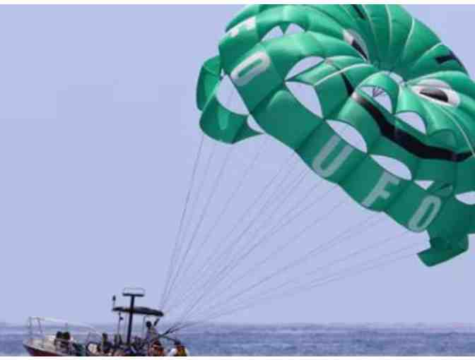UFO Parasail Out-of-This World ride for TWO