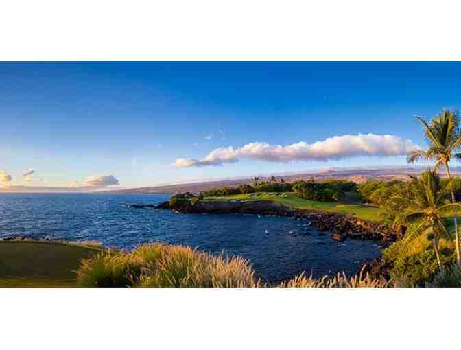 Two Rounds of Golf for One Person at the Mauna Kea Golf Course