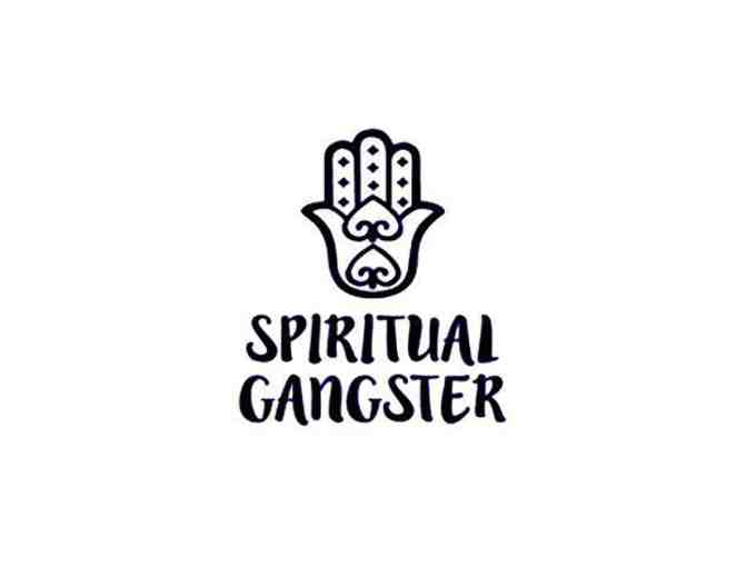 Spiritual Gangster Men's Anahata Tee - Heather Grey - Medium - Photo 2
