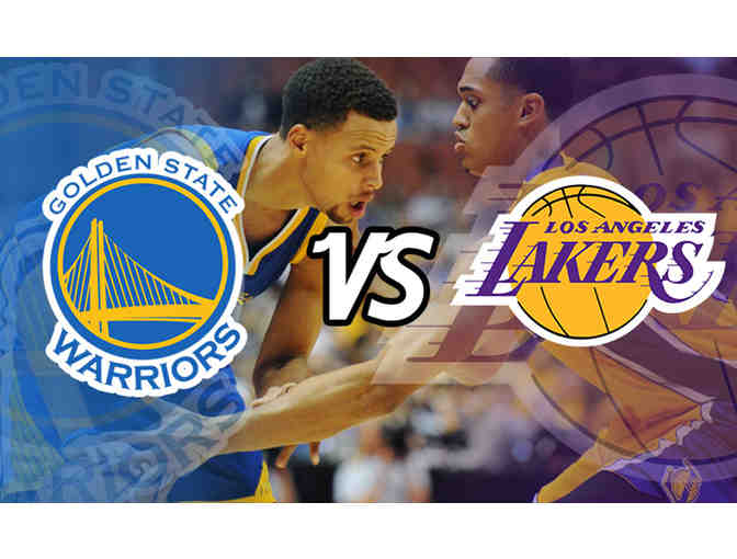 Lakers Vs. Golden State Warriors Tickets - 2 Great Seats!