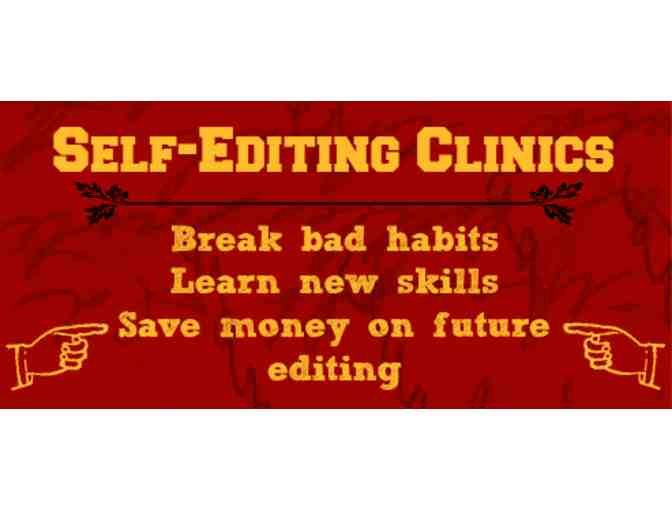 Self-Editing Clinic