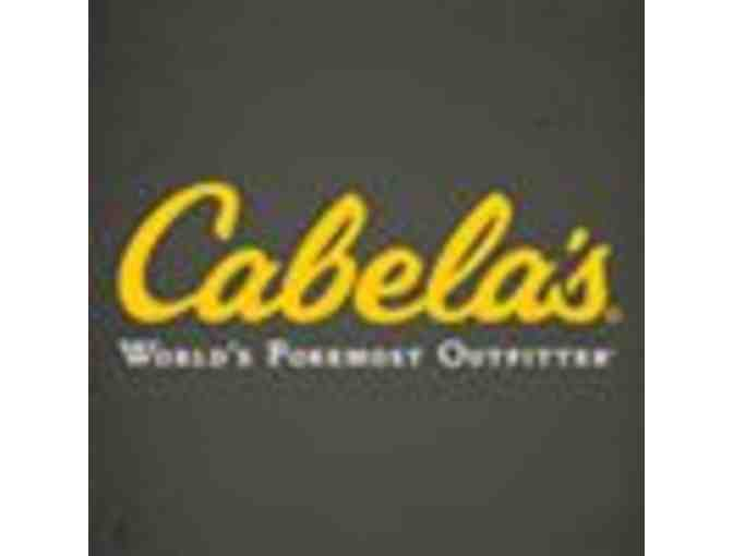 $50 gift card to Cabela's