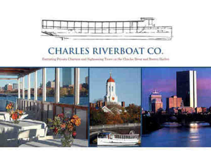 4 Passes- 60 minute cruise with the Charles Riverboat Company