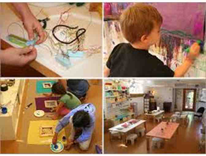 Muckykids Art Studio - 1 8hr Drop in Studio Punch Card