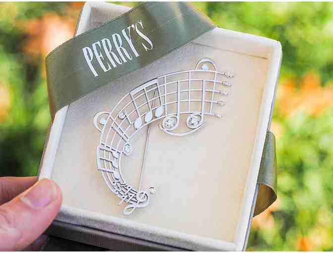 Beethoven Brooch by Perry's Diamonds & Estate Jewelry