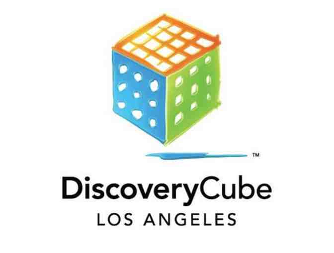 4 Tickets to The Discovery Cube Los Angeles or Orange County
