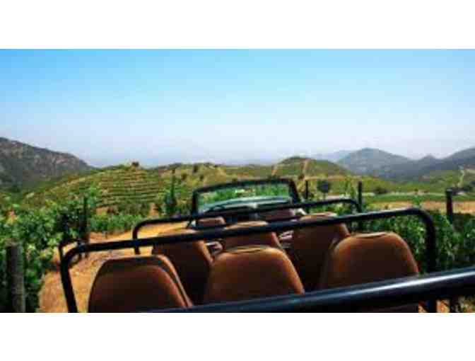 Malibu Wine Explorer Giraffe Safari for Two