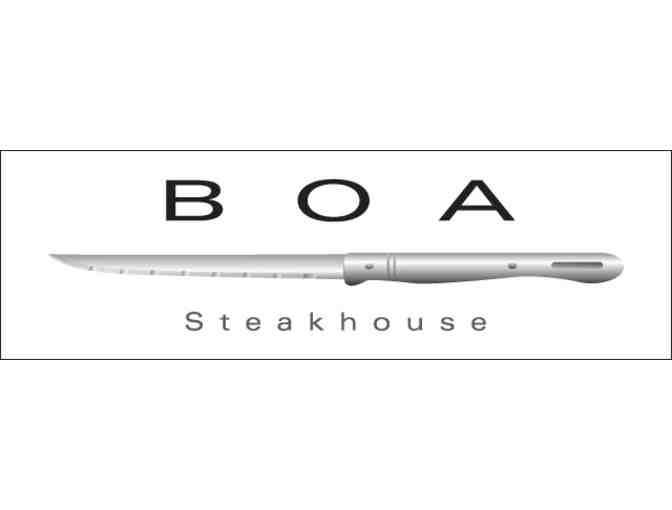 $150 Gift Certificate to BOA Steakhouse